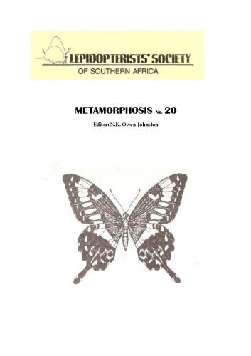 Metamorphosis Journal
